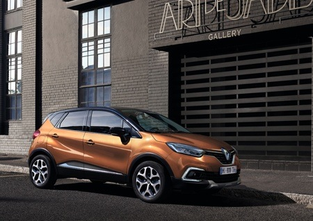 The New Renault Captur side view