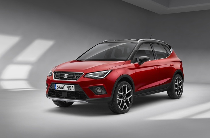 The new SEAT Arona front view