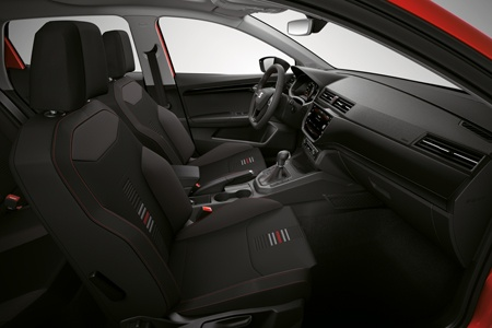 The new SEAT Ibiza drivers interior
