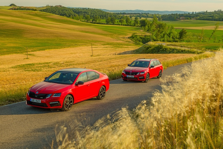the new skoda octavia vrs 245 | nationwide vehicle contracts