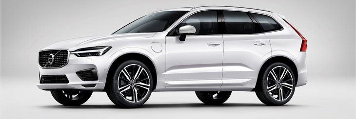 The new Volvo XC60 side view