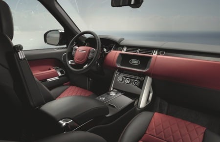 The Range Rover SVAutobiography Dynamic interior