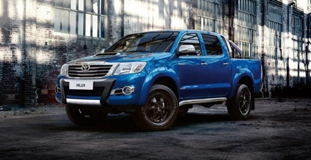 Toyota Hilux prepares for the City