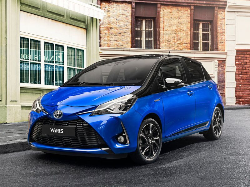 Toyota Yaris 1.5 Hybrid Icon CVT | Car Leasing ...