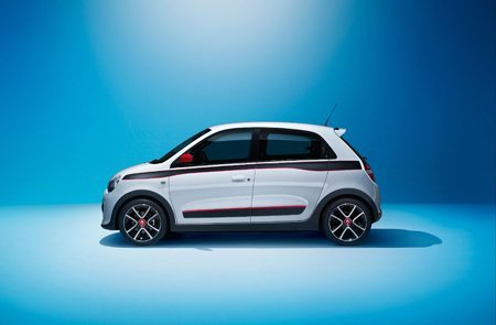 The all-new RenaultTwingo side view