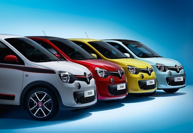 The all-new Twingo Expression, Play and Dynamique