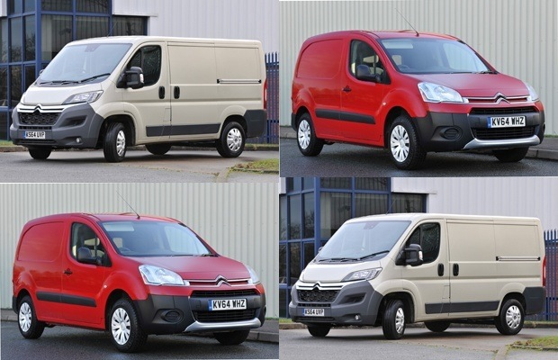 Citroën Vans' hat trick of awards at the Business Van of the Year Awards 2015