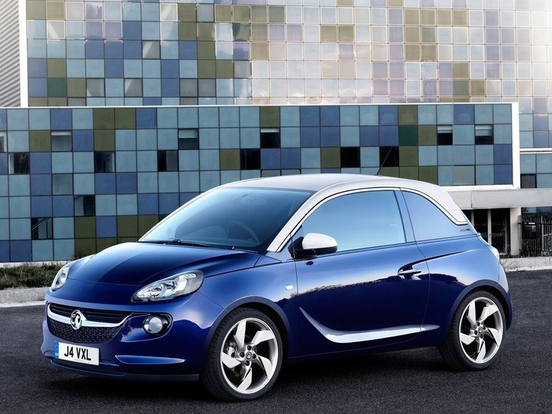 Vauxhall Adam Blue Exterior Side