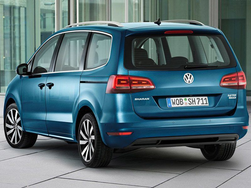Volkswagen Sharan Blue Exterior Back