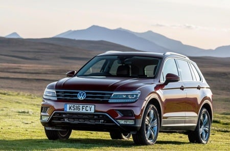 Volkswagen Tiguan takes to the hills