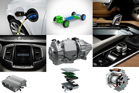 Volvo XC90 T8 parts make up a whole lot of car