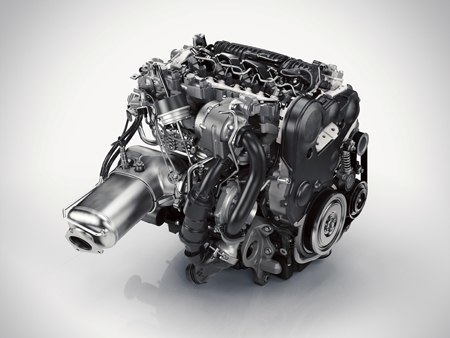 One of the XC90 engines available