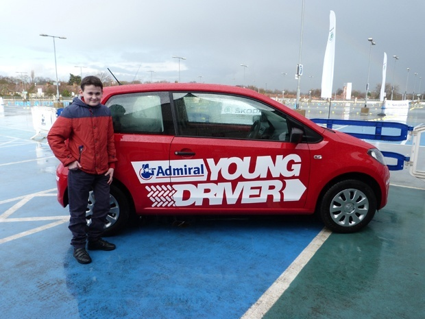 Search For Top Young Driver in Britain