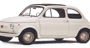 Fiat 500 - Now Available As A Fridge