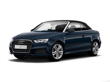 Audi A3 Cabriolet 2.0 TDI S Line S Tronic (7 Speed) (Tech Pack)