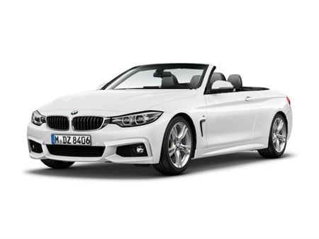 BMW 4 Series Convertible 420i M Sport Auto (Professional Media)