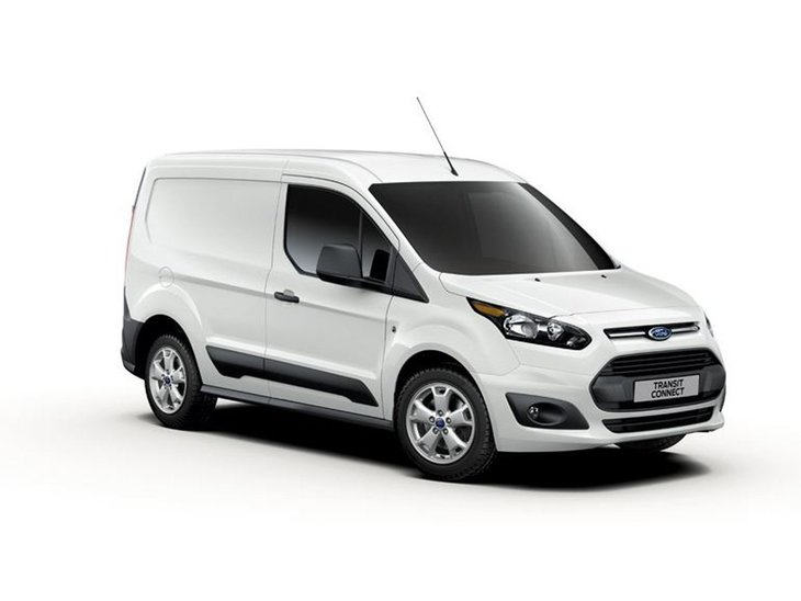 Ford Transit Connect White Side