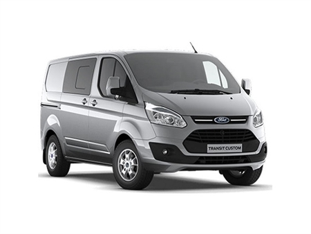 Ford Transit Custom Double Cab 290 L1 2.0 TDCi 130ps Low Roof Limited