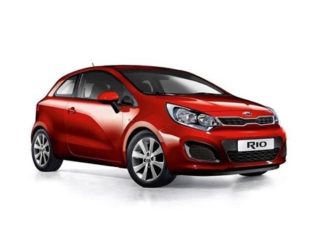 Kia Rio 3 Door Model Year 2016