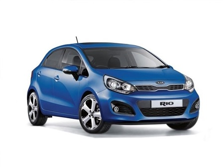 Kia Rio 5 Door Model Year 2016