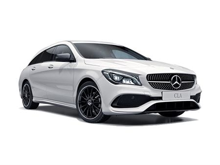 Mercedes-Benz CLA Shooting Brake 220d AMG Line Night Edition Plus Tip Auto