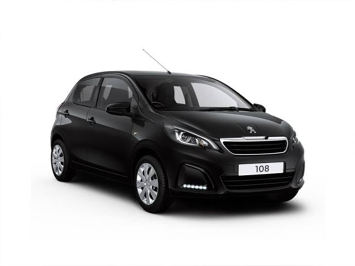 peugeot 108 1 0 active 2 tronic 5 door car leasing nationwide vehicle contracts. Black Bedroom Furniture Sets. Home Design Ideas