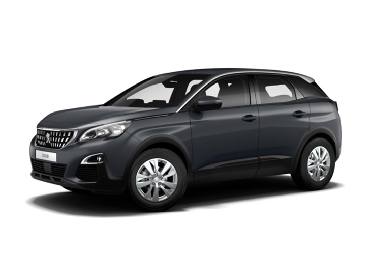 peugeot 3008 crossover 1 2 puretech active car leasing nationwide vehicle contracts. Black Bedroom Furniture Sets. Home Design Ideas