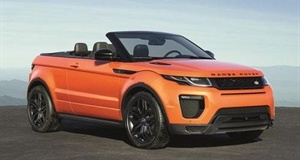 New Range Rover Evoque Convertible Set To Take On Competitors