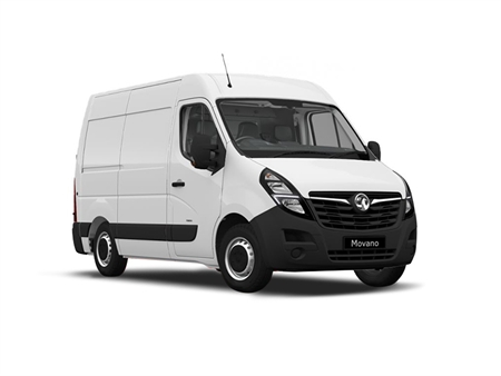 Vauxhall Movano 3500 L2 FWD 2.3 Turbo D 135ps H2 Double Cab