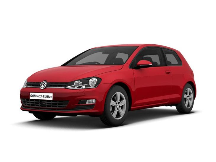 volkswagen golf model year 16 2 0 tdi match edition 3dr car leasing nationwide vehicle. Black Bedroom Furniture Sets. Home Design Ideas