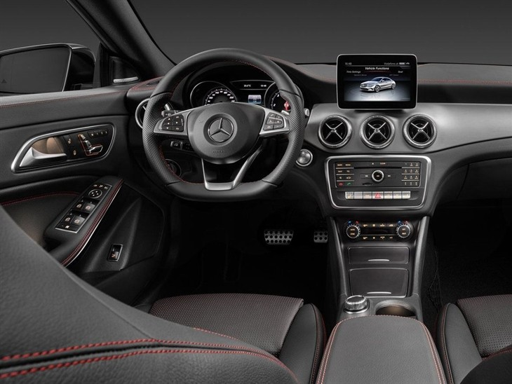 Mercedes Benz CLA New Model Interior 2