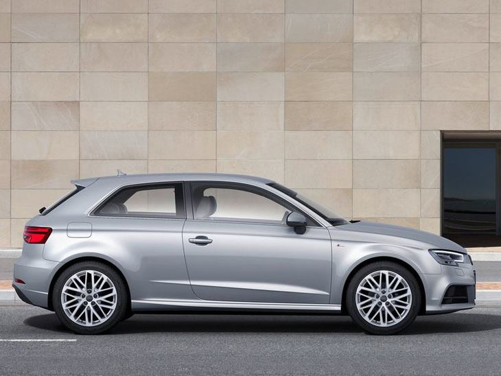 Audi A3 3Doors Silver Exterior Side 2