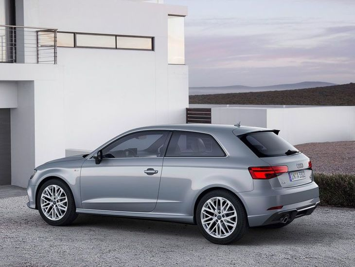 Audi A3 3Doors Silver Exterior Side