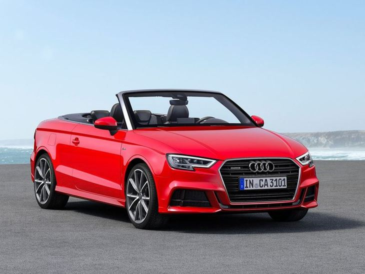 Audi A3 Cabriolet Exterior Red Front