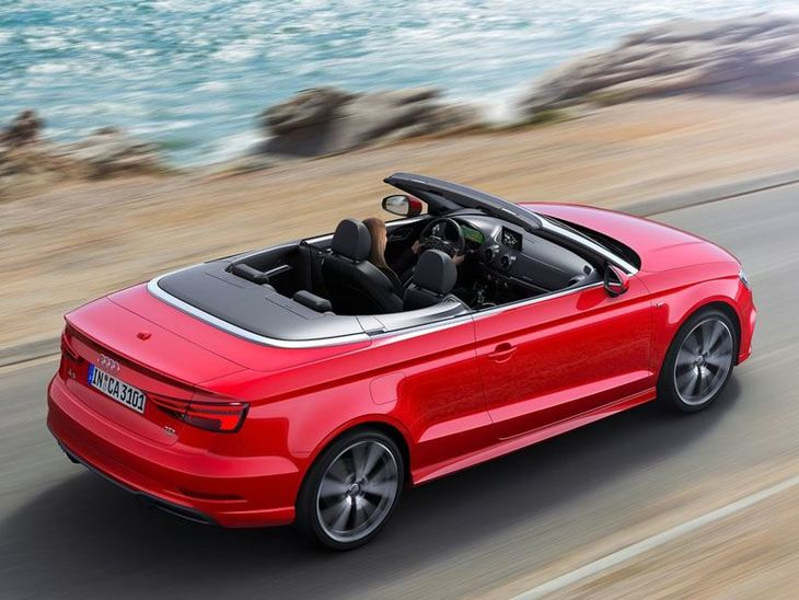 Audi A3 Cabriolet Exterior Red Top