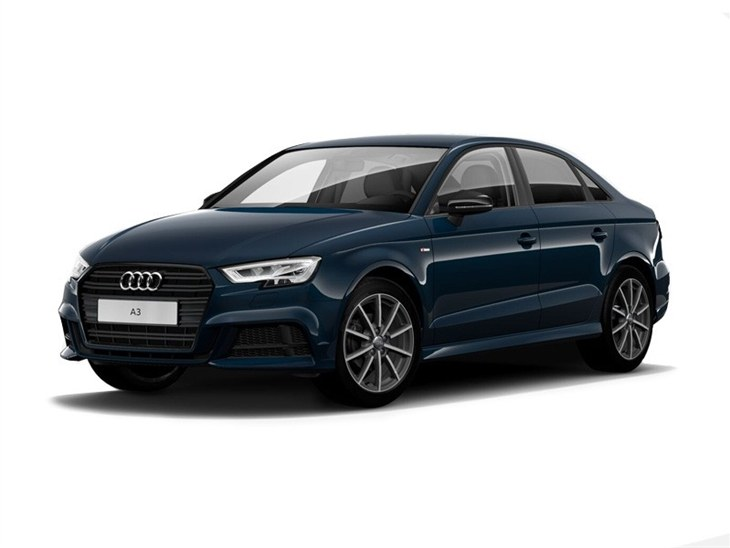 audi a3 saloon 30 tfsi black edition car leasing. Black Bedroom Furniture Sets. Home Design Ideas
