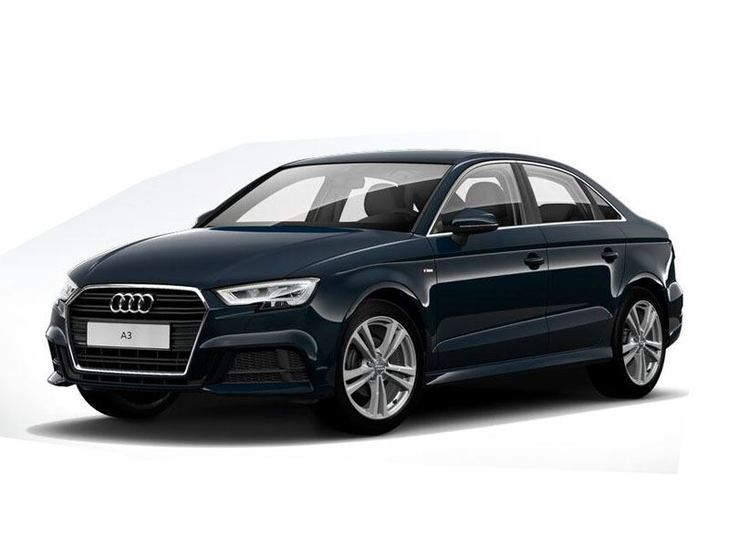 audi a3 saloon 2 0 tfsi quattro black edition s tronic. Black Bedroom Furniture Sets. Home Design Ideas
