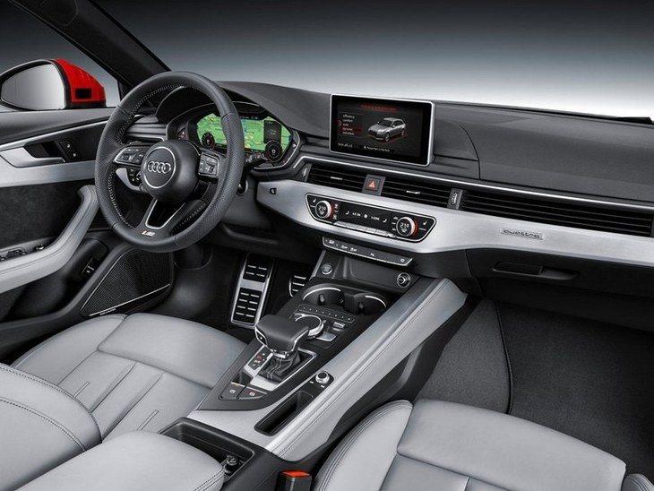 Audi A4 Avant New Model Interior