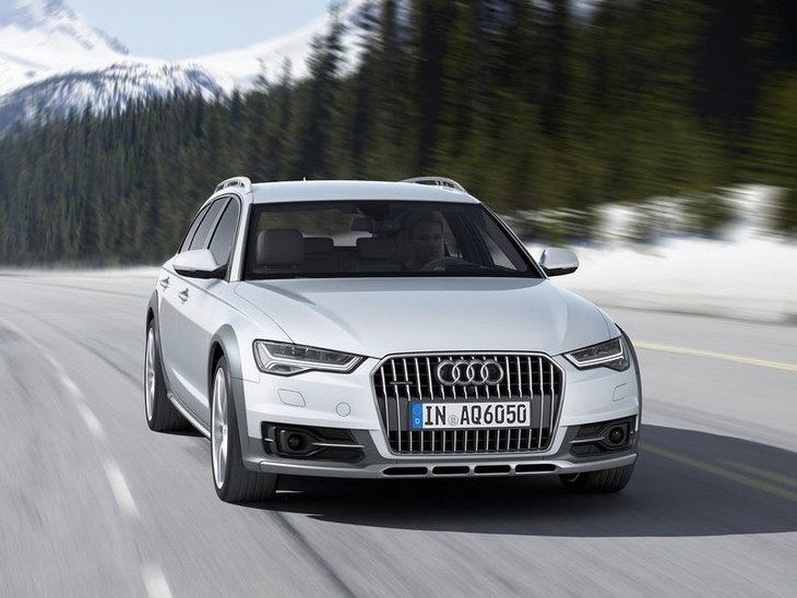 Audi A6 Allroad Silver Exterior Front 2