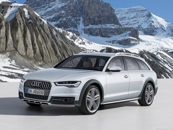 Audi A6 Allroad Silver Exterior Front