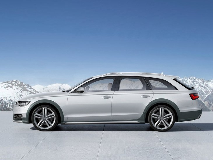 Audi A6 Allroad Silver Exterior Side