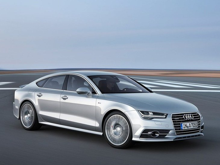 Audi A7 Sportback Silver Exterior Front