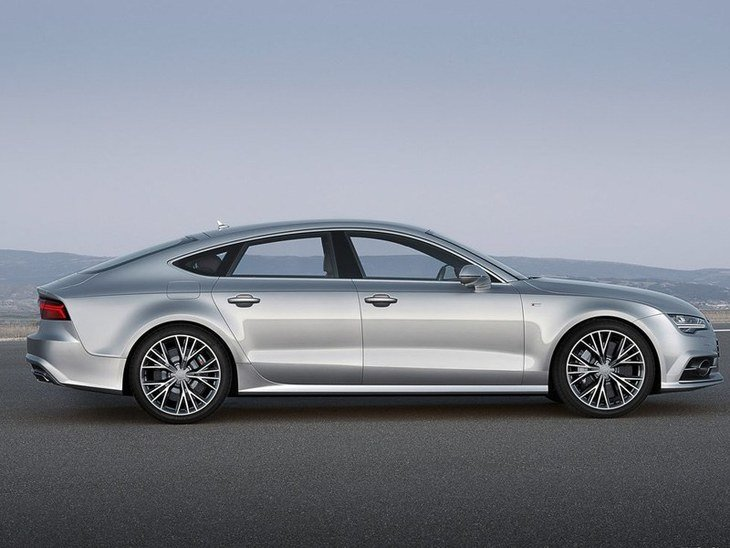 Audi A7 Sportback Silver Exterior Side
