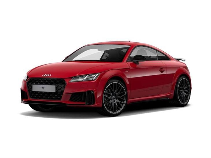 audi tt coupe 40 tfsi black edition s tronic car leasing. Black Bedroom Furniture Sets. Home Design Ideas