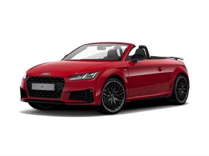 Audi Tt Roadster 40 Tfsi Black Edition S Tronic Car Leasing