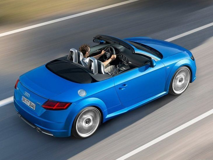 Audi TT Roadster Blue Exterior Top