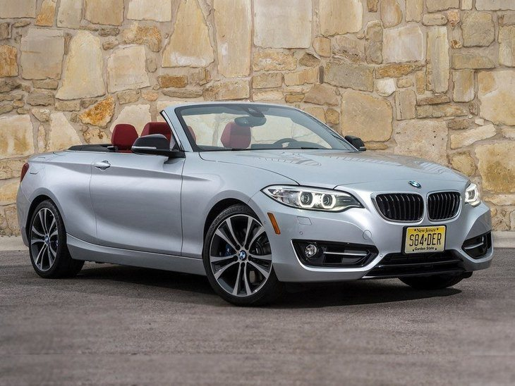 BMW 2 Series Convertible Silver Exterior Front
