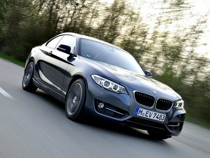 BMW 2 Series Coupe Exterior Front 2