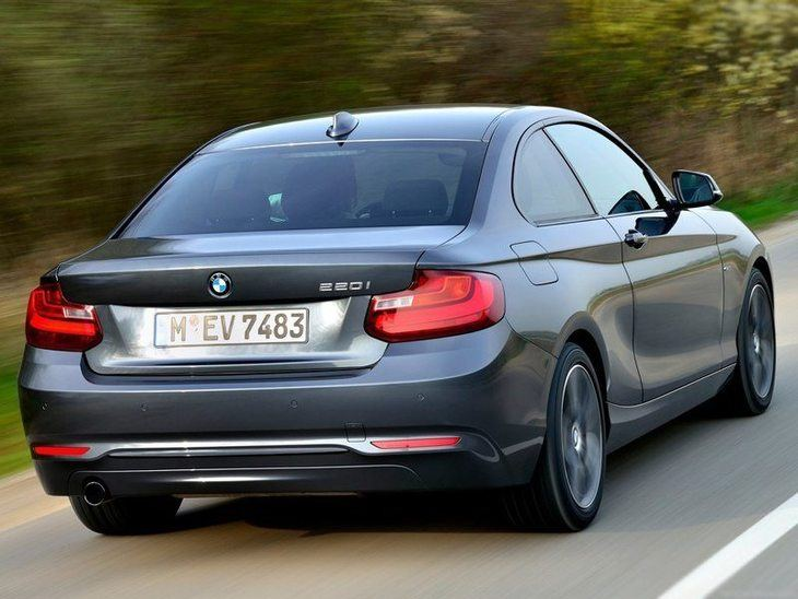 BMW 2 Series Coupe Grey Exterior Back