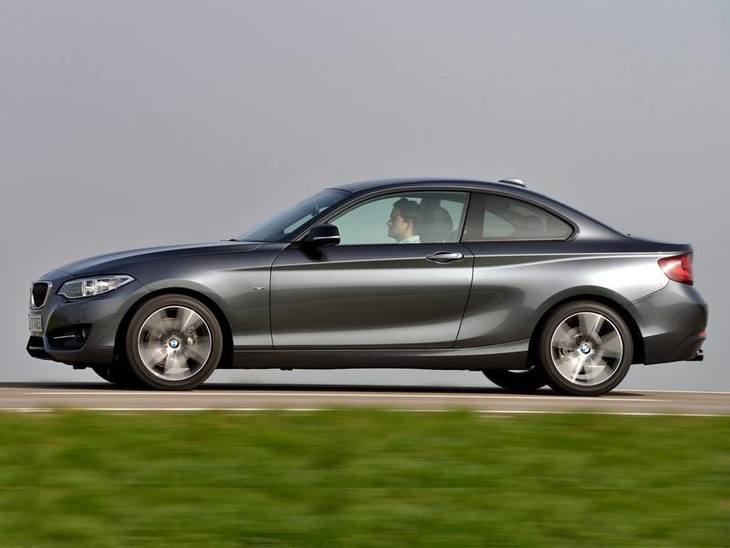 BMW 2 Series Coupe Grey Exterior Side